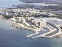 Bruce Power's A and B sites are visible on the shores of Lake Huron, about 20 minutes north of Kincardine, Ont.
