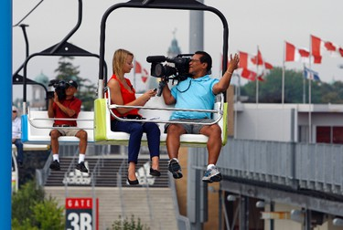 Media Day for the annual Canadian National Exhibition on Wednesday August 15, 2012. The 134th annual fair starts Aug 17. (MICHAEL PEAKE/Toronto Sun)