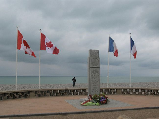 The memorial on the beaches of Dieppe honours the 3,300 Canadians killed, wounded or taken prisoner in the disastrous Allied amphibious attack on the French coast. Today, historians are re-evaluating the long-term results of the battle, and concluding that it wasn't a worthless waste of life after all.