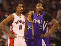 DeMar DeRozan and Rudy Gay