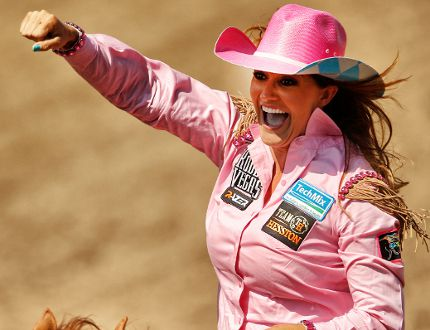 Fallon Taylor Goes To Showdown Sunday In Barrel Racing At
