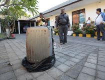 Body in suitcase