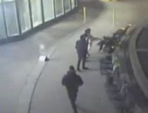 A surveillance video still of a vicious attack in the city's Entertainment District on March 30. (Toronto Police/YouTube)