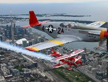 Preview of the Canadian International Air Show at the CNE