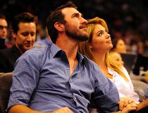 Nude photos of what appears to be Justin Verlander and Kate Upton have been leaked online. (REUTERS)