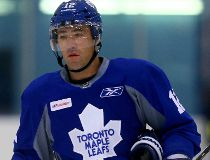 Stephane Robidas during Leafs training camp at the Mastercard Centre in Toronto on Friday, Sept. 19, 2014. (DAVE ABEL/Toronto Sun)