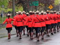 Mountie charged