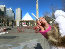 Smoking banned in Churchill Square