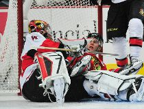 NHL: Ottawa Senators at Chicago Blackhawks