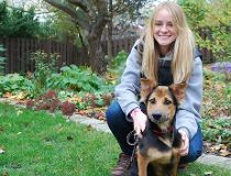 How this Canadian model saved a paralyzed stray dog