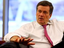 John Tory knows that the honeymoon is ending and the real work as Toronto mayor begins in 2015. (DAVE ABEL/Toronto Sun)