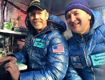 Balloonists surpass record for time aloft in transpacific journey