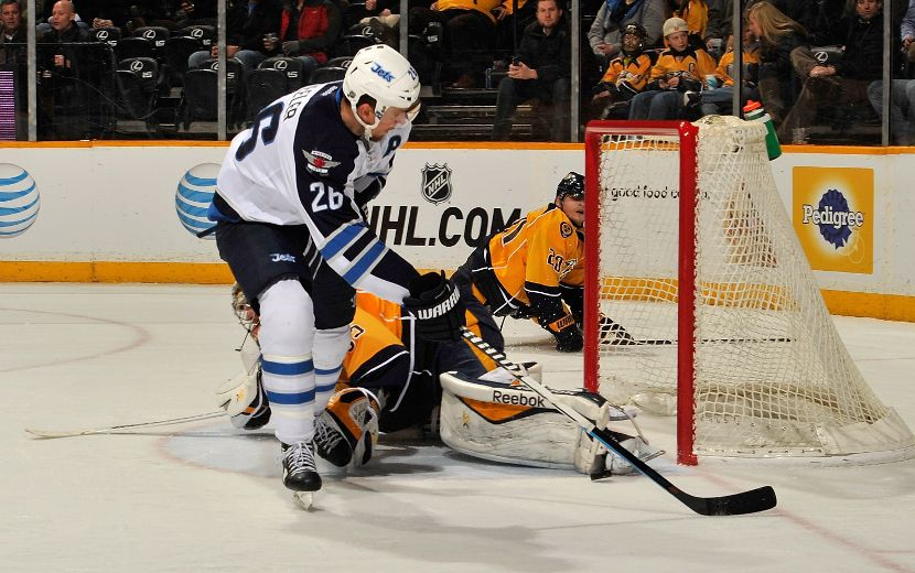 Jets hope to follow Wheeler's lead against Preds