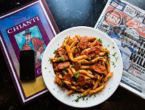 Put It On Your Plate pasta edition Chianti