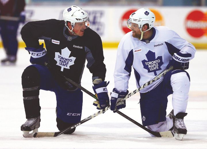 Who will be the first Leaf to fall: Kessel or Phaneuf?
