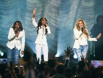 Destiny's Child - Michelle Williams, Kelly Rowland and Beyonce - AFP