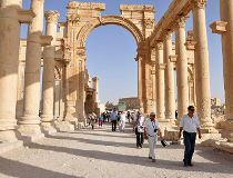 Palmyra ISIS fighters