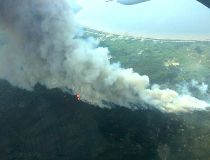 North Wabasca Lake fire. The hamlet of Wabasca declared a local state of emergency on Sunday May 24, 2015.