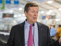 john Tory speaks