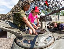 Spruce Meadows Military Museums artifacts