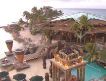 Photo of Nygard Cay, the ritzy Bahamian home/resort owned by Winnipeg fashion mogul Peter Nygard. After years of feuding with neighbour Louis Bacon, Nygard filed a lawsuit March 24, 2011, against Bacon, the CBC and three other parties, alleging a conspira