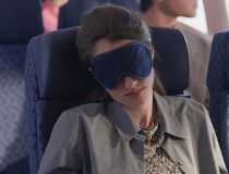 What does your airplane sleeping style say about you?
