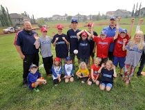 Chestermere little leaguers get new diamond