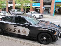 Vancouver police car