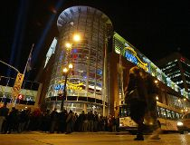 MTS centre night exterior filer