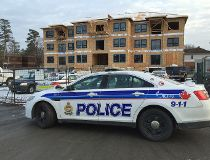 Critical injuries in construction site fall