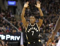 Toronto Raptors point guard Kyle Lowry