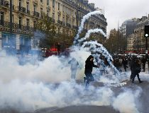 france climate protest