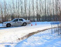 Three found dead in their home near Edson, say police