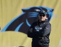 Carolina Panthers head coach Ron Rivera