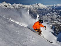 White pass at Fernie Alpine Resort,