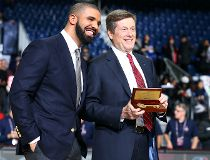Drake and John Tory and key