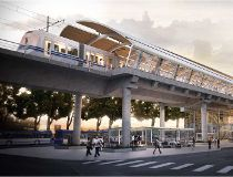 The Valley Line LRT is planned to have an elevated station at Wagner