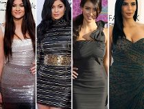 kardashians changing faces