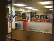 Rob Ford's council office