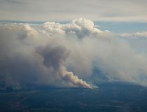 Snapshots of the wildfire from above Fort McMurray _5