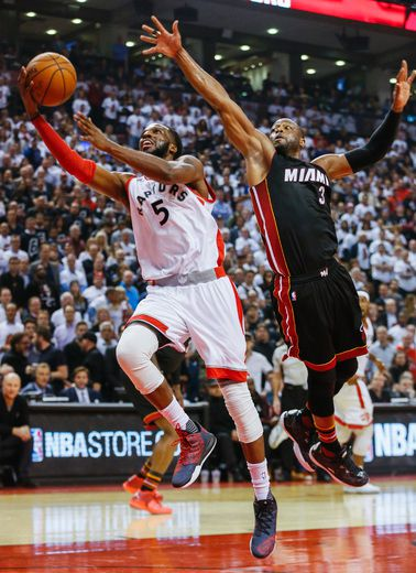 Miami Heat can't seal the deal in Game 2 against Raptors