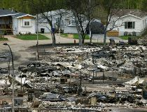 Fort McMurray wildfire homes