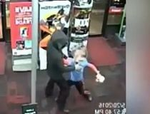 Boy fights robber