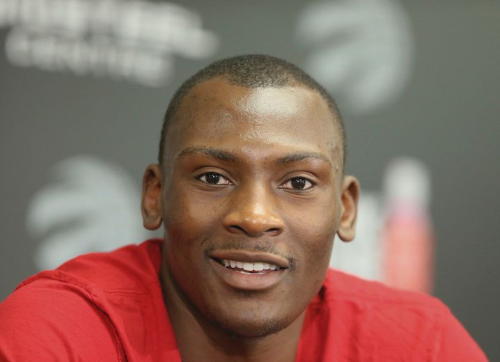 Raptors centre Biyombo wants to stay in Toronto