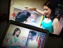 Chinese laundry detergent ad