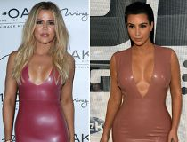 Kardashians in latex
