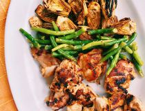 Lemony chicken