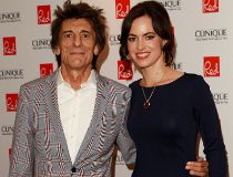 Ronnie Wood Sally Humphreys