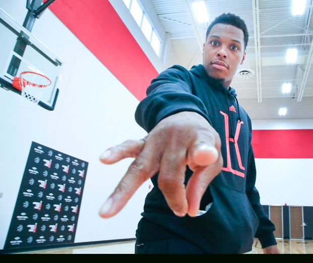 Lowry pens thank-you letter to Raptors fans