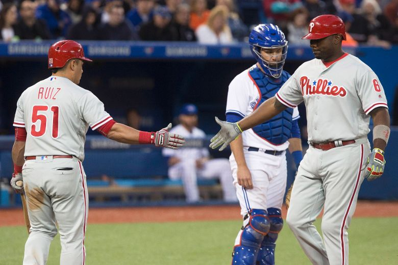 Bats silenced as Blue Jays hammered by Phillies